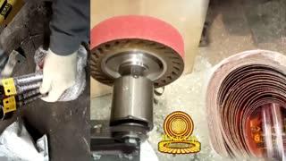 Лента для контактного шлифовального колеса.Belt for contact grinding wheel