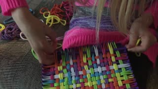 How To with Brooke - Weaving a Pot Holder