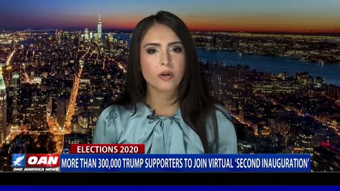 Over 300K Trump supporters to join virtual 'second inauguration'
