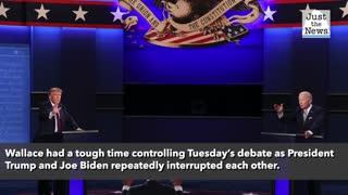 Fox News hosts blast presidential debate moderator – Fox News' Chris Wallace