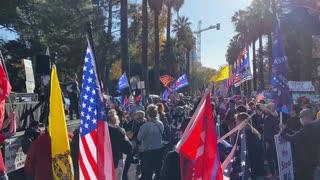 StopTheSteal _ California State Capitol Protest Sacramento, CA Week 4 November 28, 2020 IMG 2833