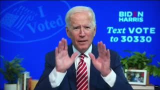 Biden brags about his voter fraud system