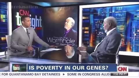 Morgan Freeman schools Don Lemon CNN leftist/ Activist/Propagandist