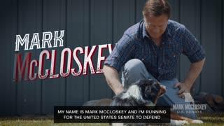 Mark McCloskey Releases EPIC Ad Announcing Senate Run