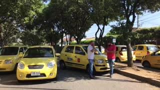 paro de taxis y buses | El Tejar 2
