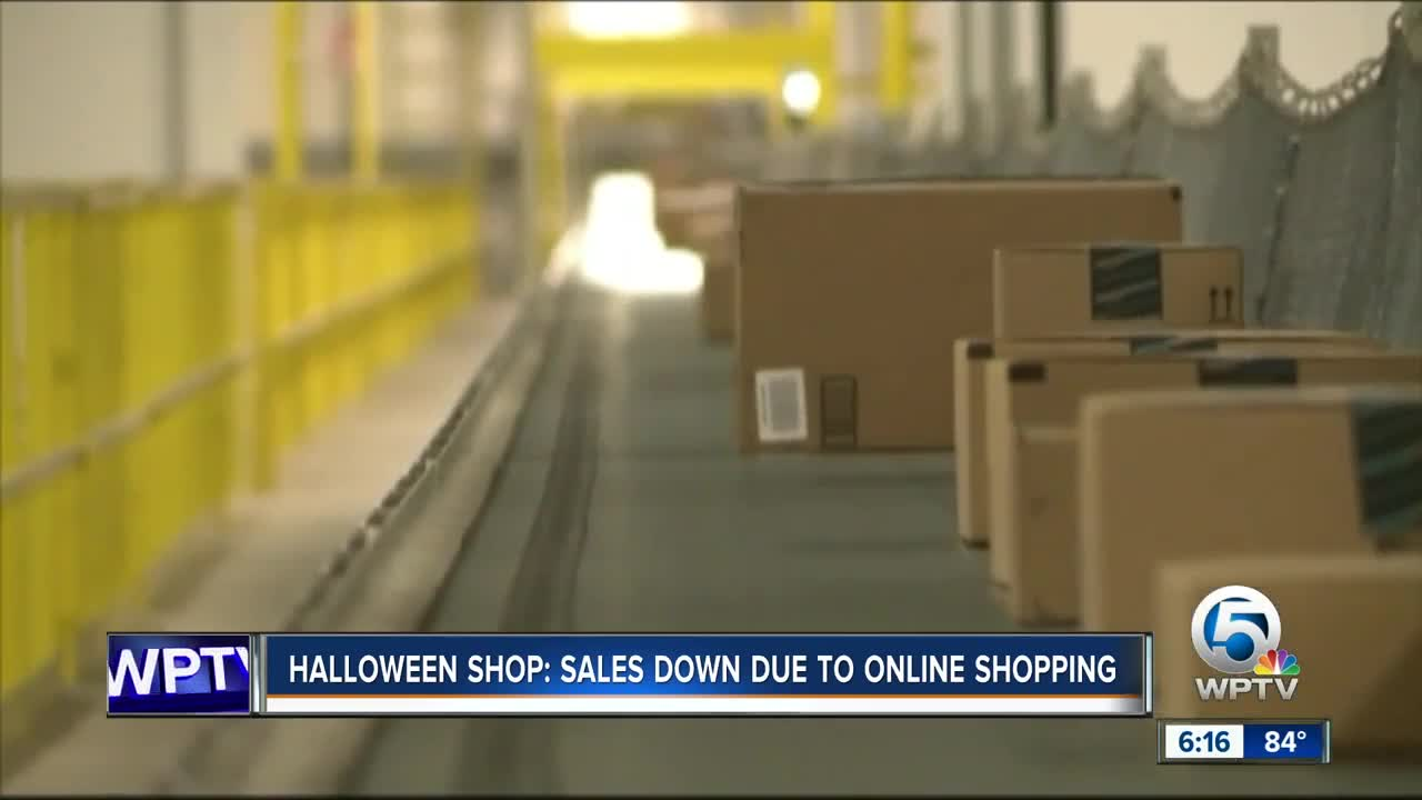 Local Halloween store owner says Amazon is hurting their business