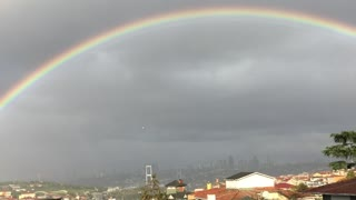 Great rainbow after the storm