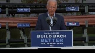 Awkward Biden Gaffe