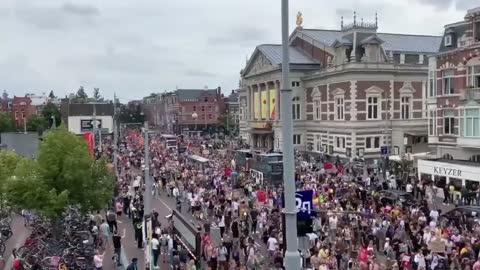 Prosvjedi Amsterdam (8.2021)