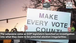 Michigan lawmakers issued subpoena to election officials during Saturday hearing