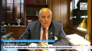 Former Mayor Rudolph Giuliani says Durham will have no choice but to prosecute