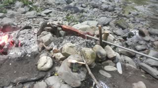 River Barbecue System