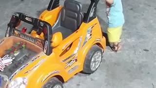 Nancy with car