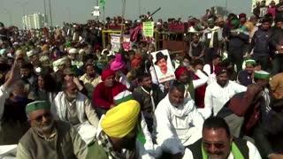 India cuts Internet, farmers start hunger strike