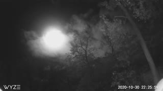 Time lapse moon in PA