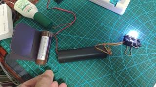 3.7V 18650 battery High voltage generator