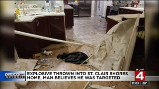 Michigan Trump supporter and his girlfriend attacked with explosives while in his home