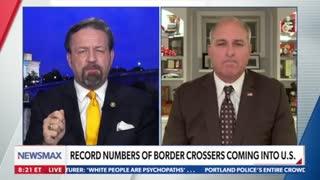 The border crisis is no laughing matter. Mark Morgan with Sebastian Gorka