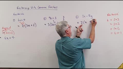 Math Factor Set A 01 Common Factors Introduction