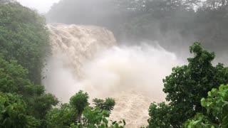 Flash Flooding After Hurricane Lane