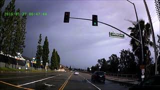 Plane Crash in Yorba Linda Caught on Dashcam