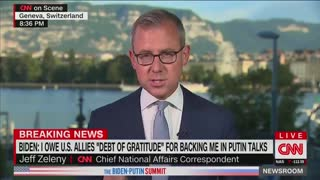 CNN Correspondent Says 'Never Seen' Aides 'Scream' at President to Stop Talking