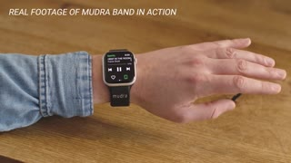 Mudra Band - Touch Free Control for Apple Watch 1