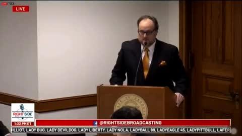 Jovan Hutton Pulitzer Bombshell Claim In GA Hearing | The Washington Pundit