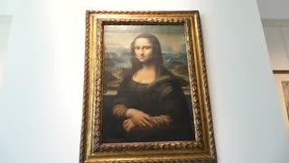 Esta réplica de la Mona Lisa, una de las más files, se exhibe en Bruselas