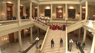 Georgia Senate passes heartbeat abortion bill