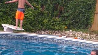 Back dive FAIL