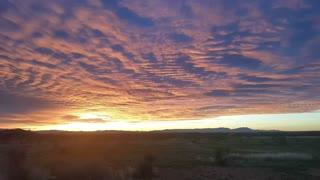 SE Arizona Sunrise, March 23d, 2020