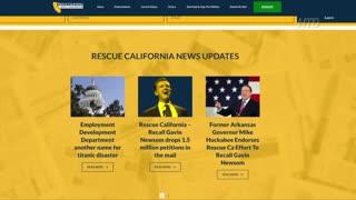 Recall Newsom Effort Reaches 1 Million Signature