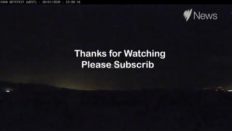 First meteor of the year in Spain spotted on CCTV