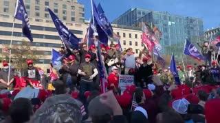 Washington D.C. March For Trump