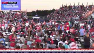 LIVE: President Donald J Trump in Perry, GA