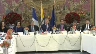 Iván Duque se reúne con empresarios e inversionistas en París
