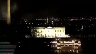 Lights out on White House & Biden