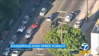Crazy Police Pursuit Crash Compilation 2