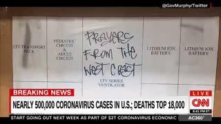 Newsom, Cuomo Praise trump for well done job