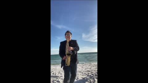 Beach sax Mix performance sample three