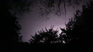 Lightning Storm in France