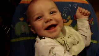 Very Sweet Smiling Baby.