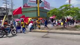 Jornada de marchas en Cartagena 5 de mayo