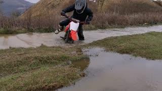 Massive puddle