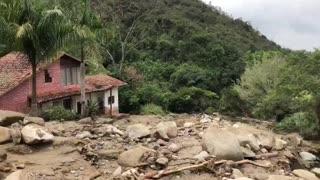 Emergencia por lluvias en Piedecuesta Santander 1