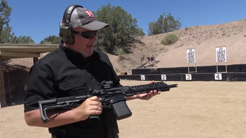"""The 12"""" Patriot Ordnace Factory Revolution 308 Rifle"""