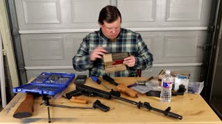 Making Some Modifications To My WASR-10 (AK47)