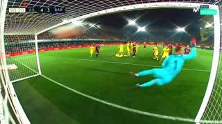 Gol de falta de Messi al Villareal