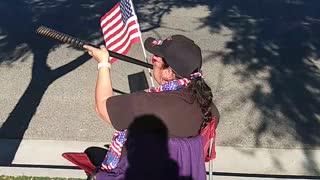 Trump Veteran's Day Rally today in Murrieta California